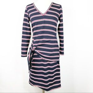 Anthropologie Dolan Long Sleeve Striped Dress